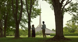 "In the Indie Debut ""Columbus,"" Midcentury Architecture Stars Beside John Cho"