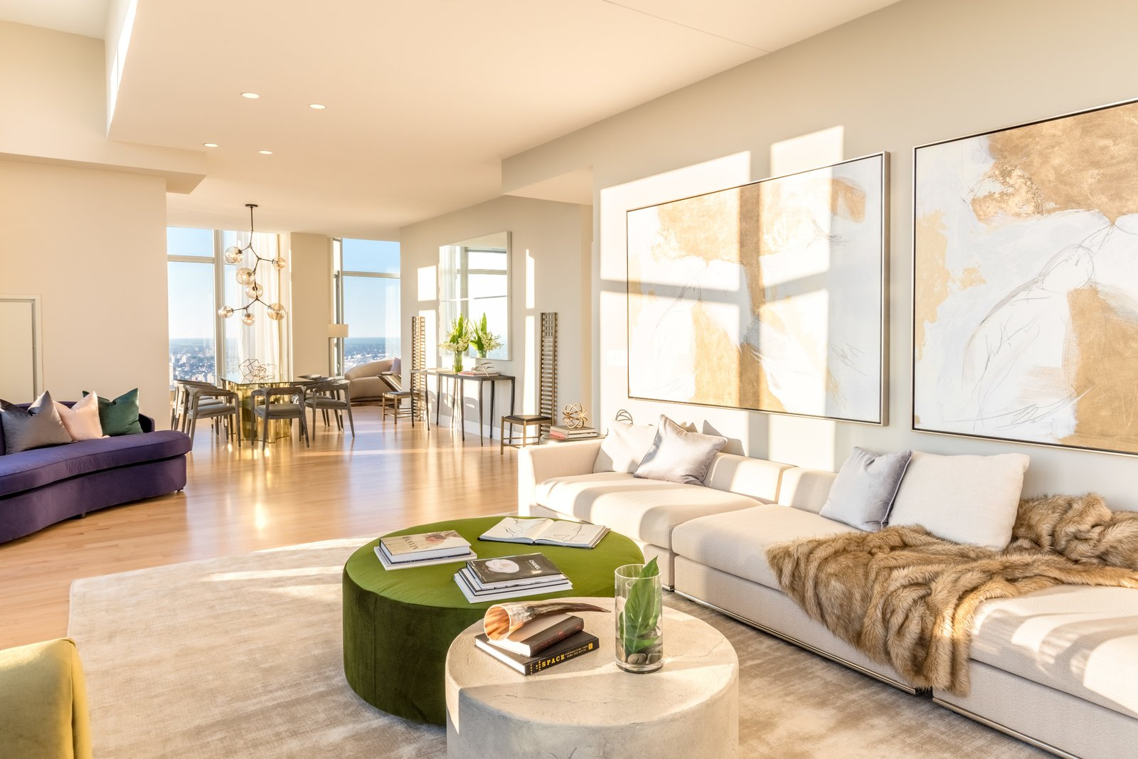 Photo 4 of 9 in Tour This Frank Gehry-Designed Penthouse in NYC That's Back on the Market