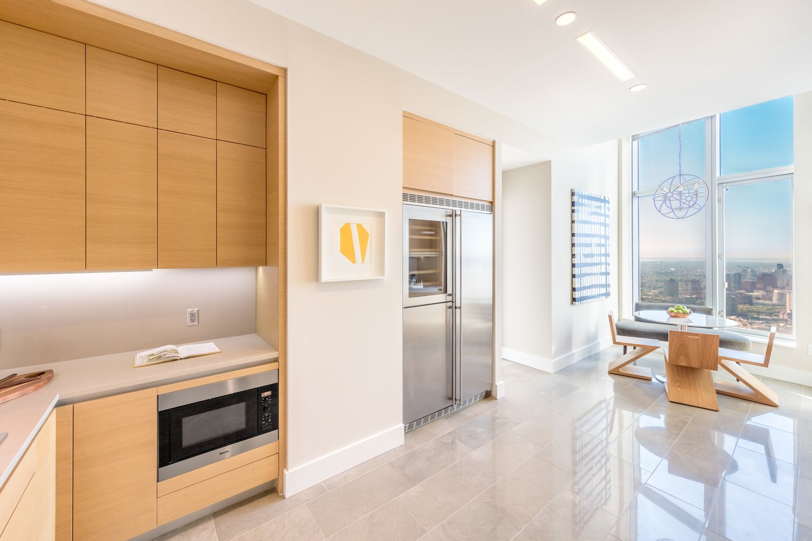 Photo 6 of 9 in Tour This Frank Gehry-Designed Penthouse in NYC That's Back on the Market