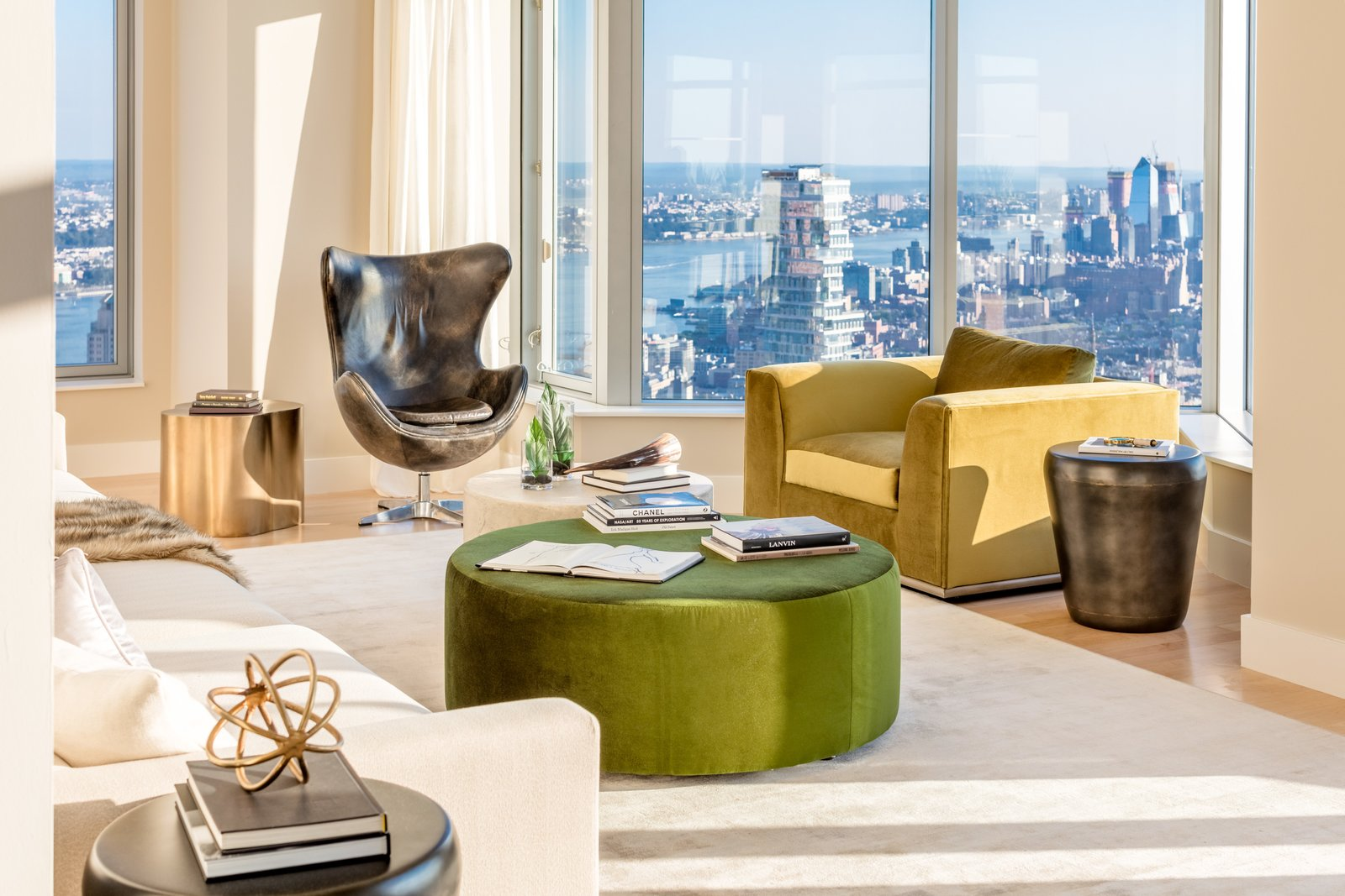 Photo 3 of 9 in Tour This Frank Gehry-Designed Penthouse in NYC That's Back on the Market