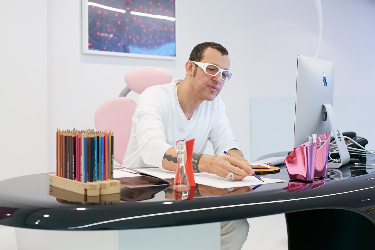 Photo 11 of 21 in Where I Work: Karim Rashid