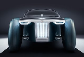 The bold profile is the the work of Rolls-Royces Director of Design, Giles Taylor.