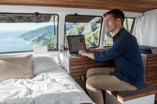 A Used Cargo Van Becomes a Mobile Studio - Photo 1 of 14 -