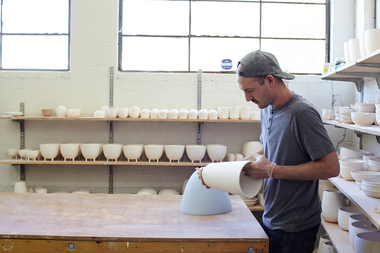 Photo 10 of 25 in How Pigeon Toe's Hazel Pendants Are Made