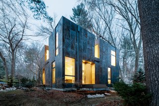 Weather Steel Home By Merge Architects