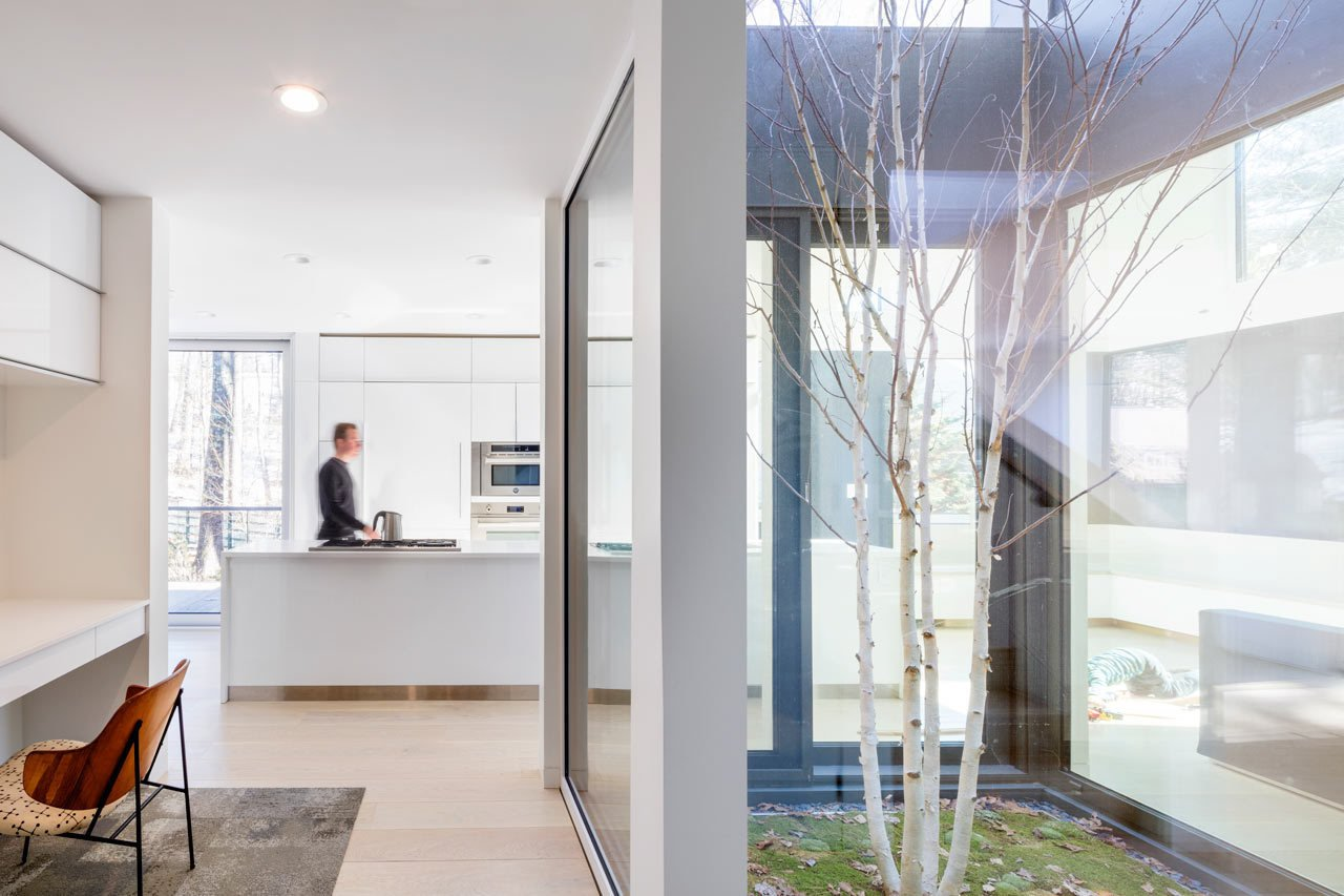 Photo 6 of 14 in Weather Steel Home By Merge Architects