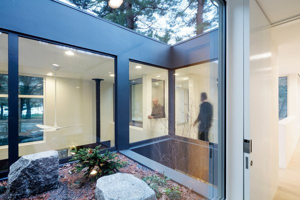 Photo 13 of 14 in Weather Steel Home By Merge Architects