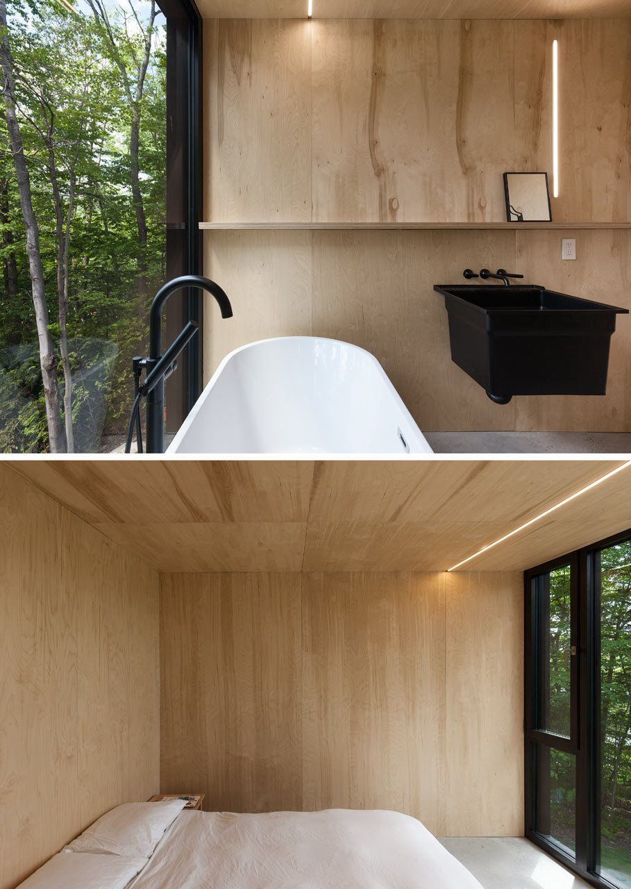 Photo 19 of 23 in FAHouse: A Double Triangular House in the Forest