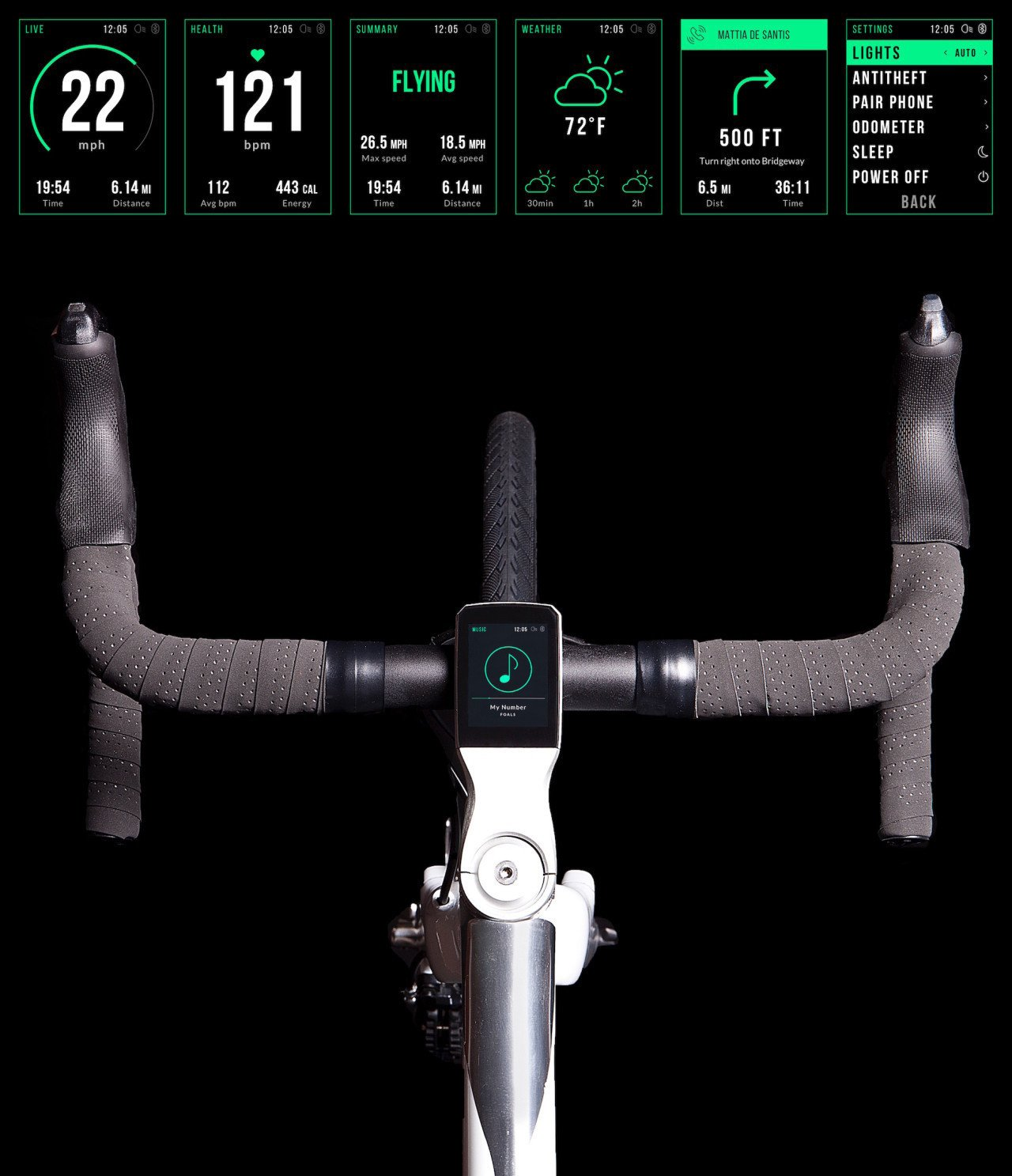 Photo 3 of 8 in VOLATA: The App Controlled Bicycle
