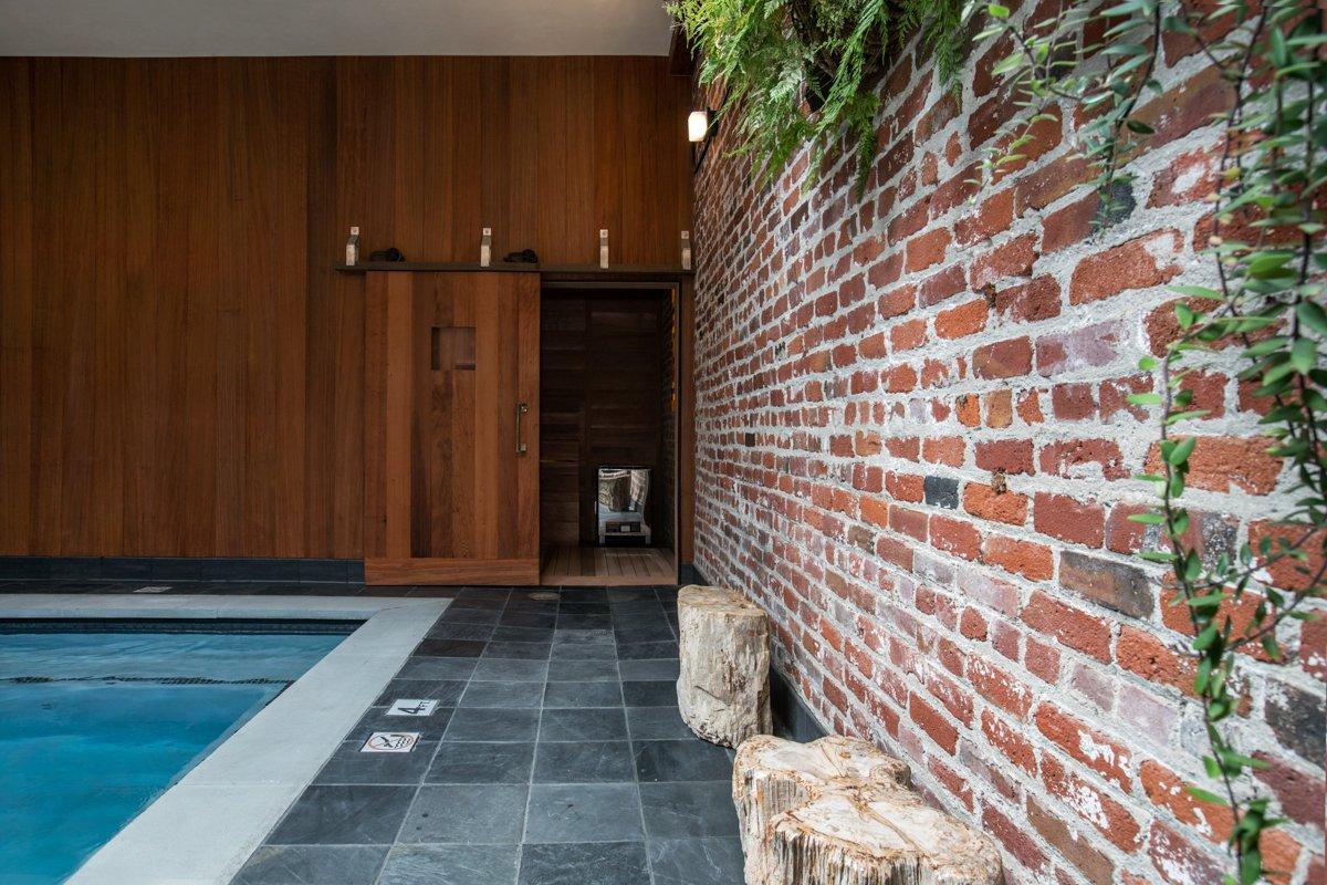 Photo 7 of 14 in Former Auto Body Shop Transformed Into Zen Bathhouse
