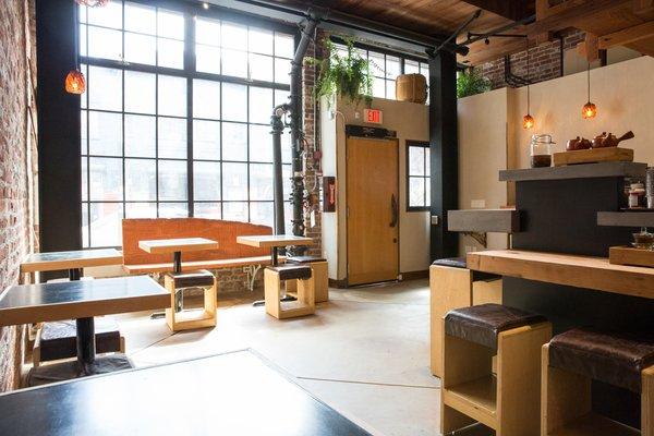 Photo 14 of 14 in Former Auto Body Shop Transformed Into Zen Bathhouse