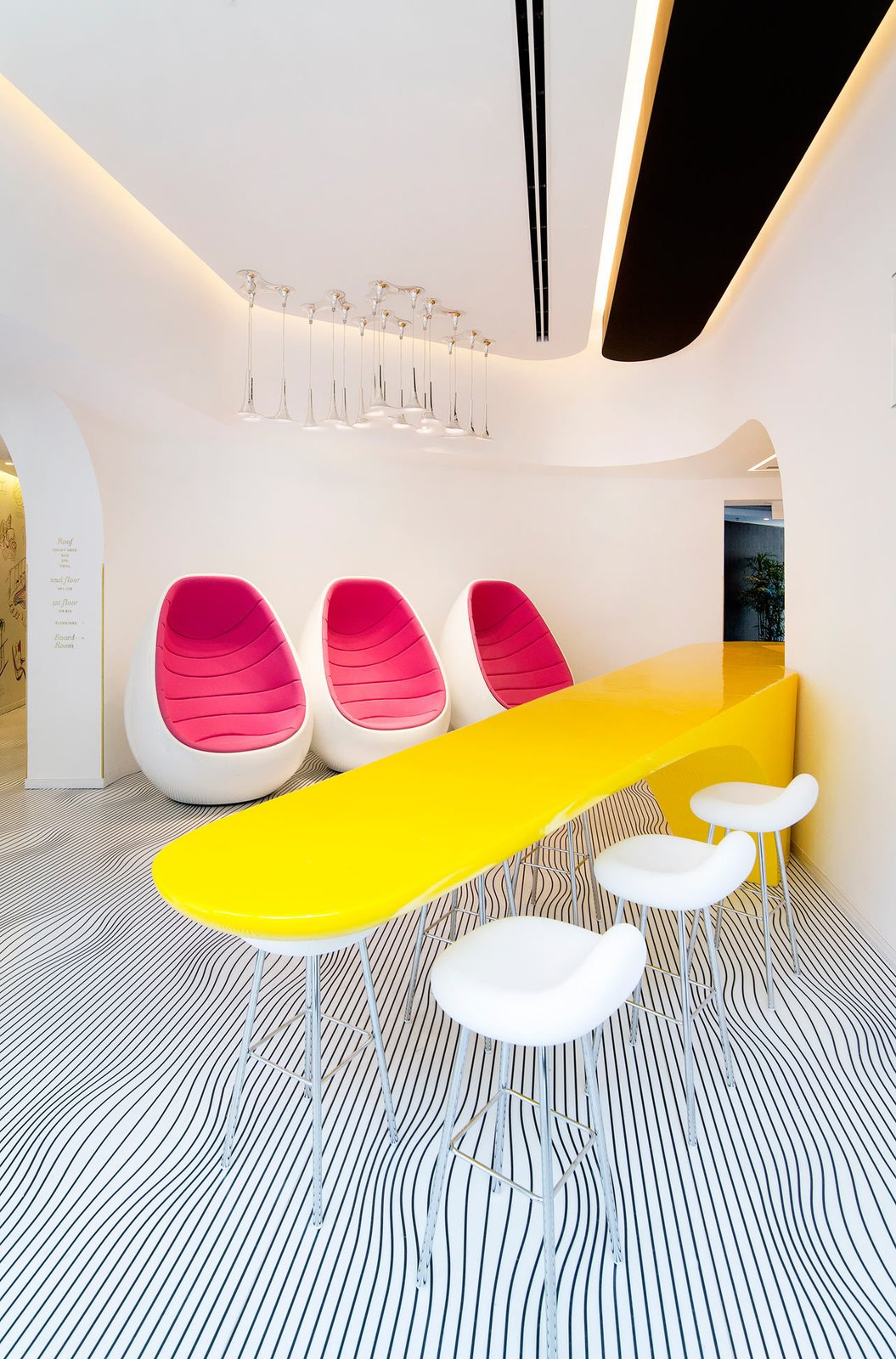 Photo 3 of 11 in Restored Bauhaus Building Gets the Karim Rashid Treatment in Tel Aviv