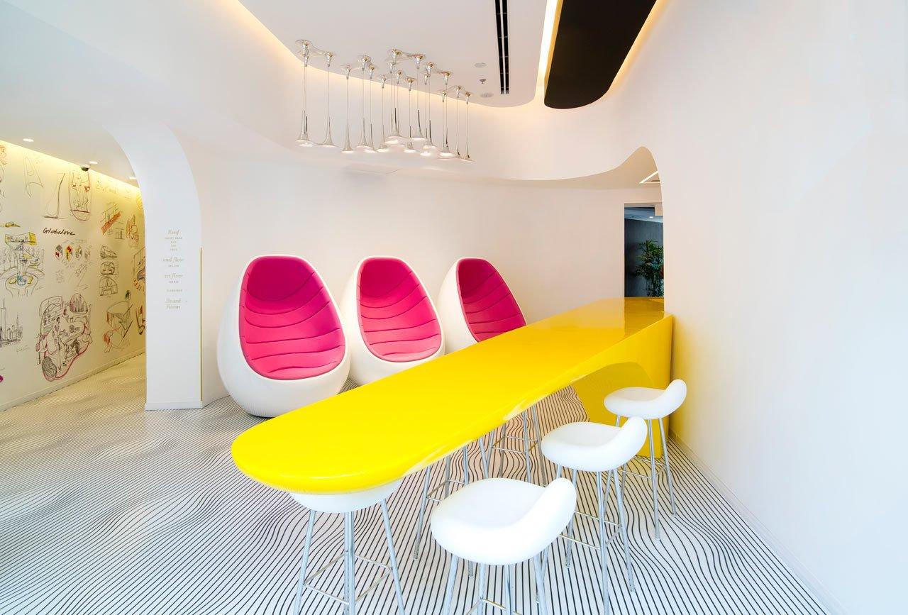 Photo 1 of 11 in Restored Bauhaus Building Gets the Karim Rashid Treatment in Tel Aviv