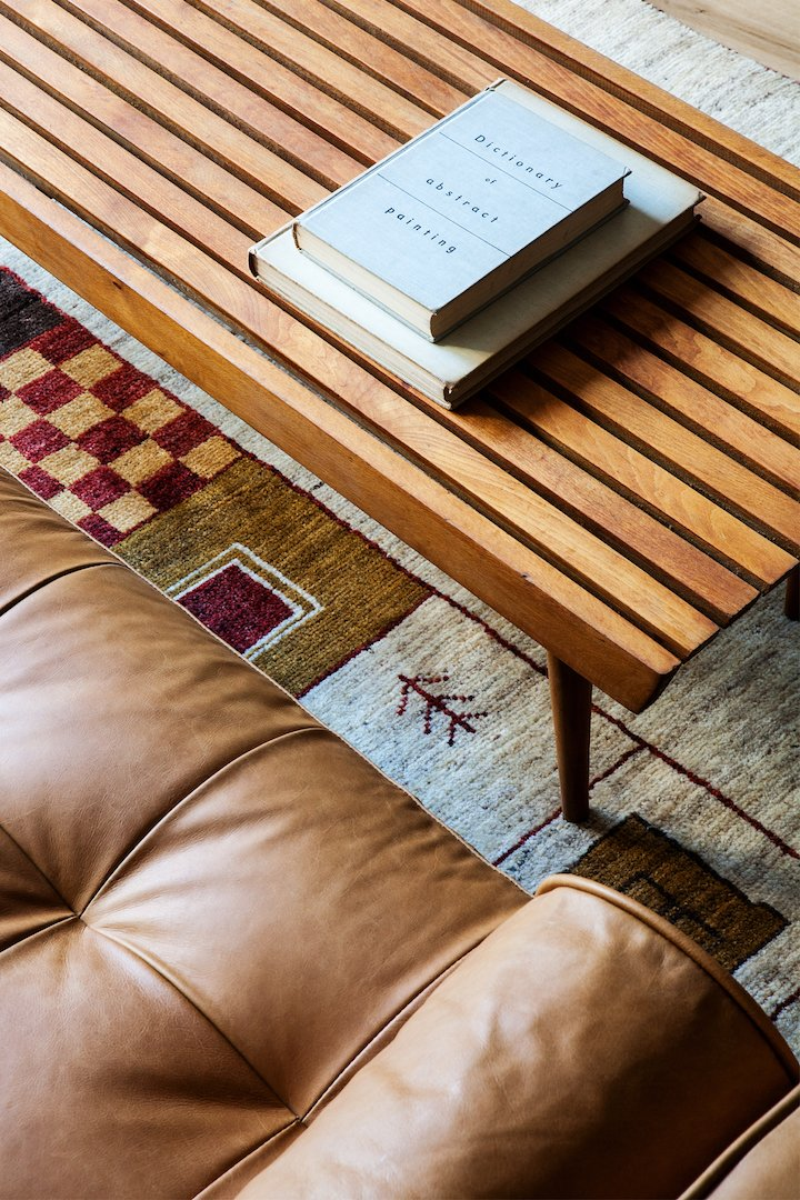 Living Room, Rug Floor, Coffee Tables, and Sofa  Photo 7 of 18 in Lokal: A Classic Hotel with a Modern Invisible Service