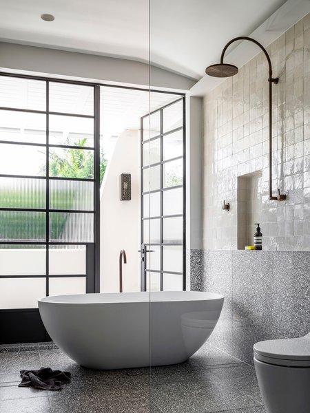Bath Room, Freestanding Tub, and Soaking Tub  Photo 36 of 40 in 40 Modern Bathtubs That Soak In the View