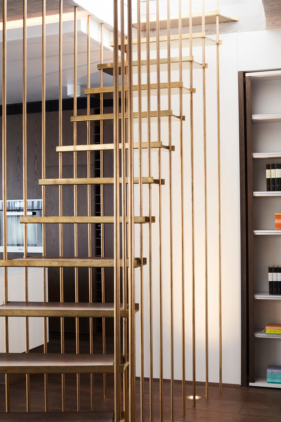 Staircase  The Books House by Luigi Rosselli Architects