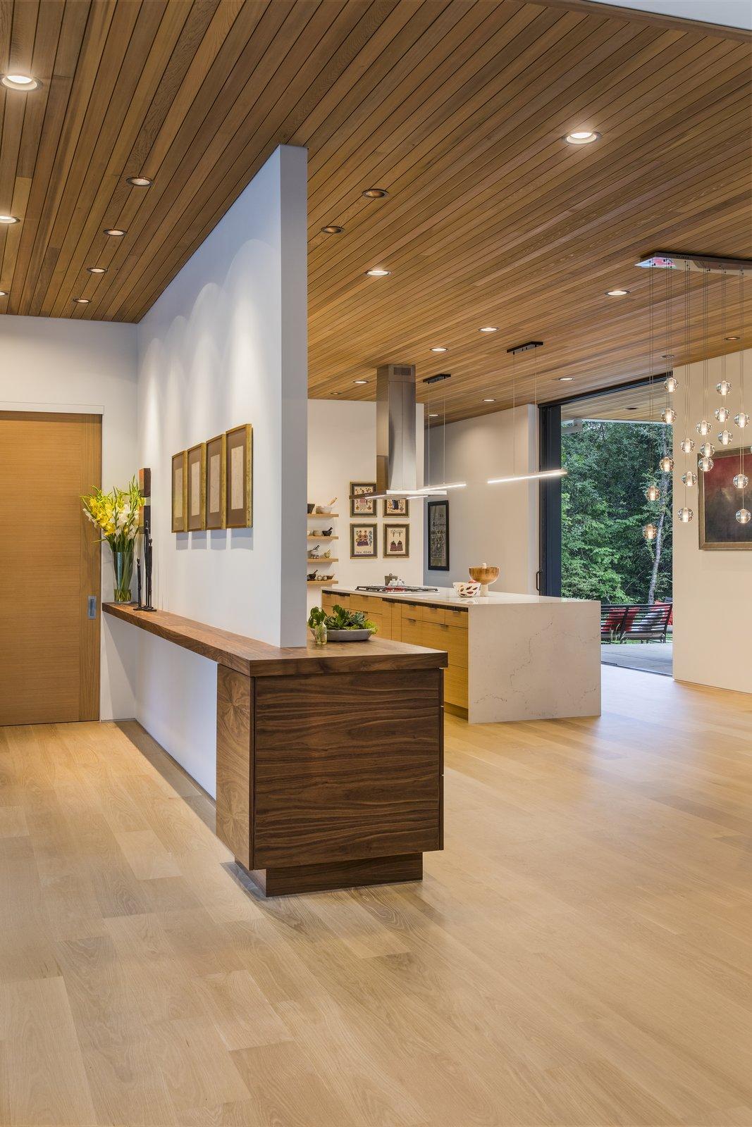 Hallway and Light Hardwood Floor  Wildwood by Giulietti / Schouten AIA Architects