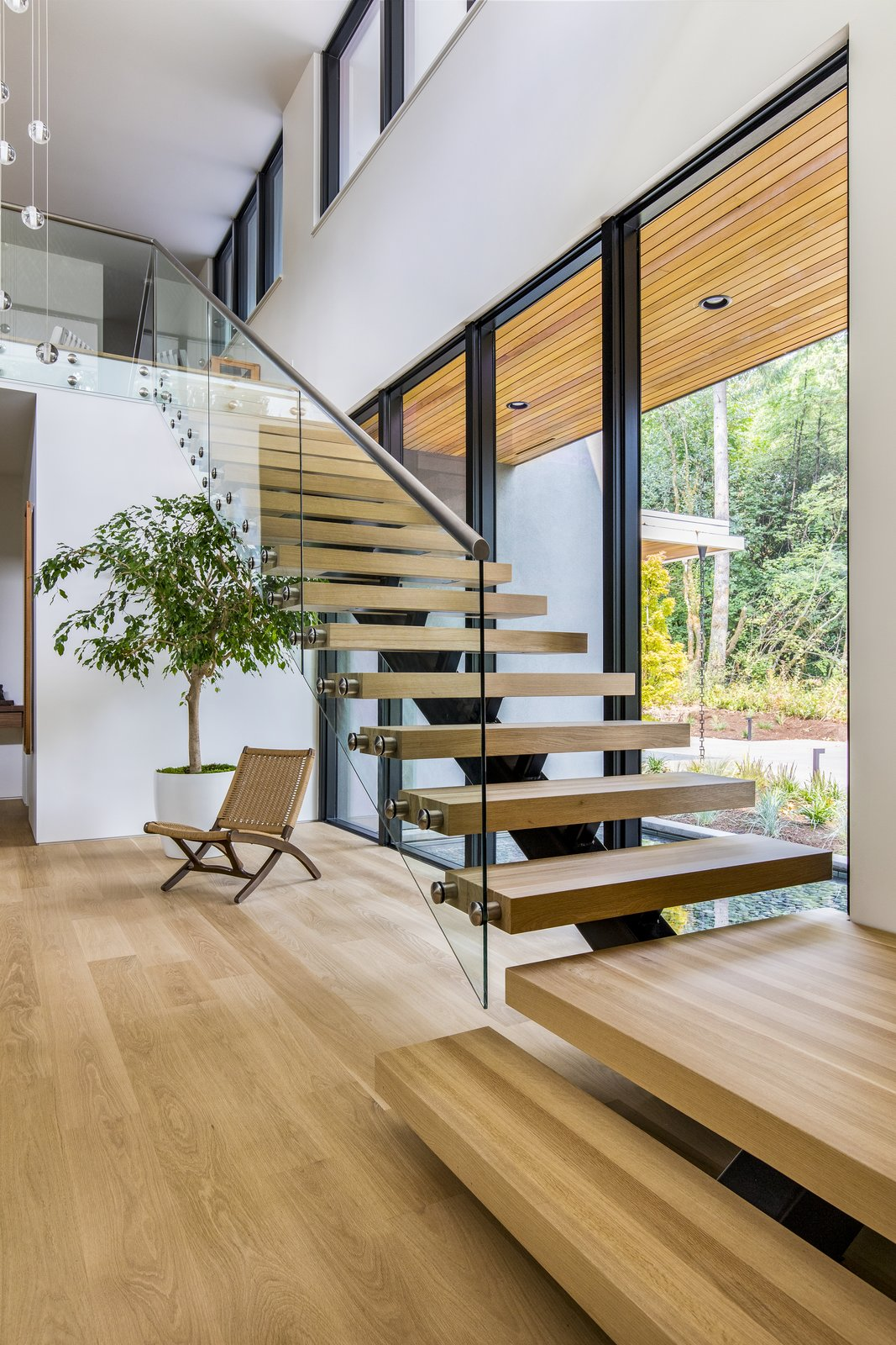 Wildwood white oak staircase