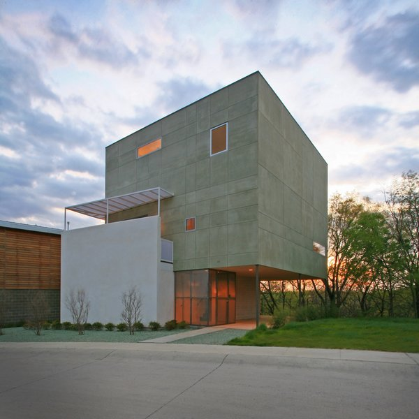 Cube House Modern Home In Dallas Texas By Buchanan Architecture On Dwell
