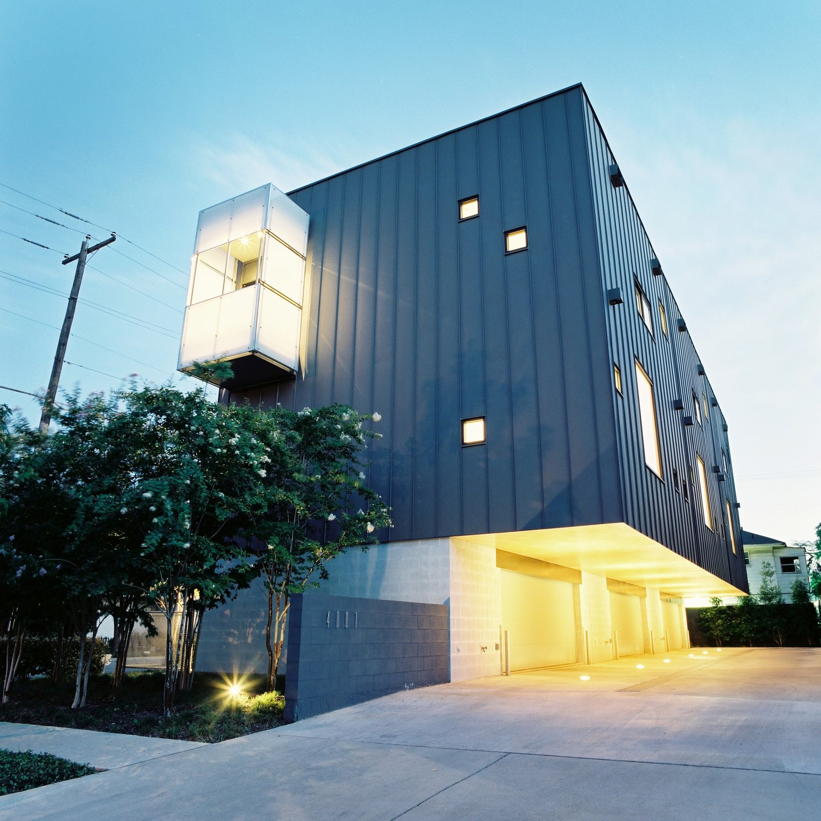 Exterior, House Building Type, Metal Siding Material, and Brick Siding Material  Envelope by buchanan architecture
