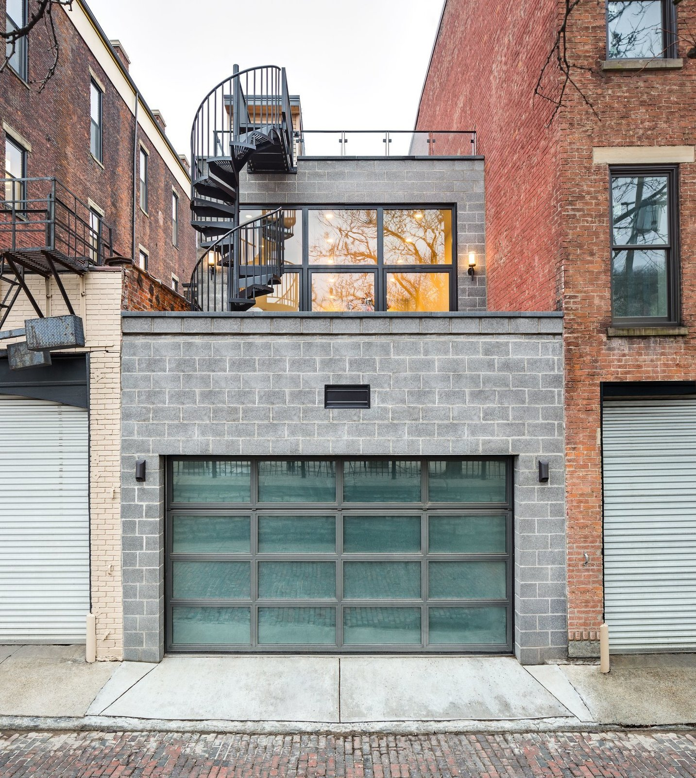 Exterior and Concrete Siding Material  Best Photos from Over-The-Rhine Urban Revival