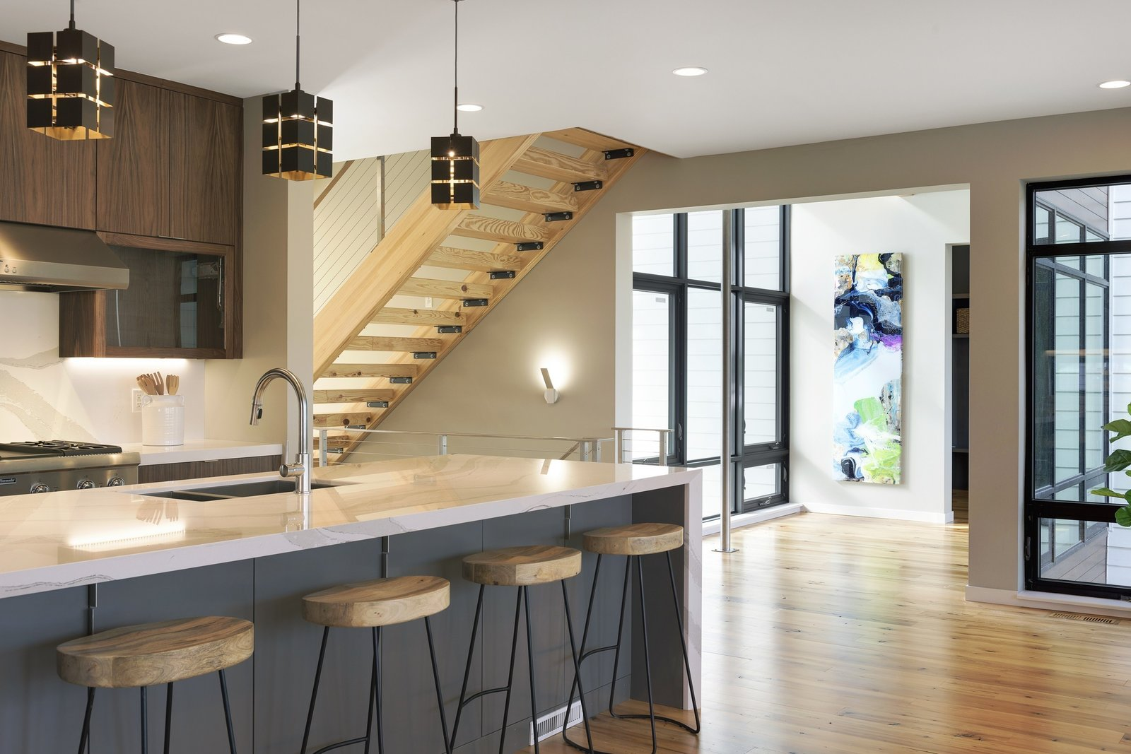 """Photo 8 of 11 in Minneapolis Modern """"Dream Home"""" Built by Sustainable 9 Design + Build"""