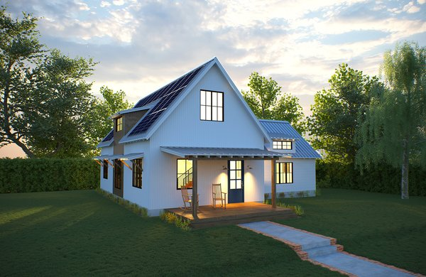 Photo 1 of 5 in deltec homes introduces two new models for Small modern farmhouse