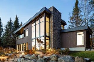 Modern Lake Cabin