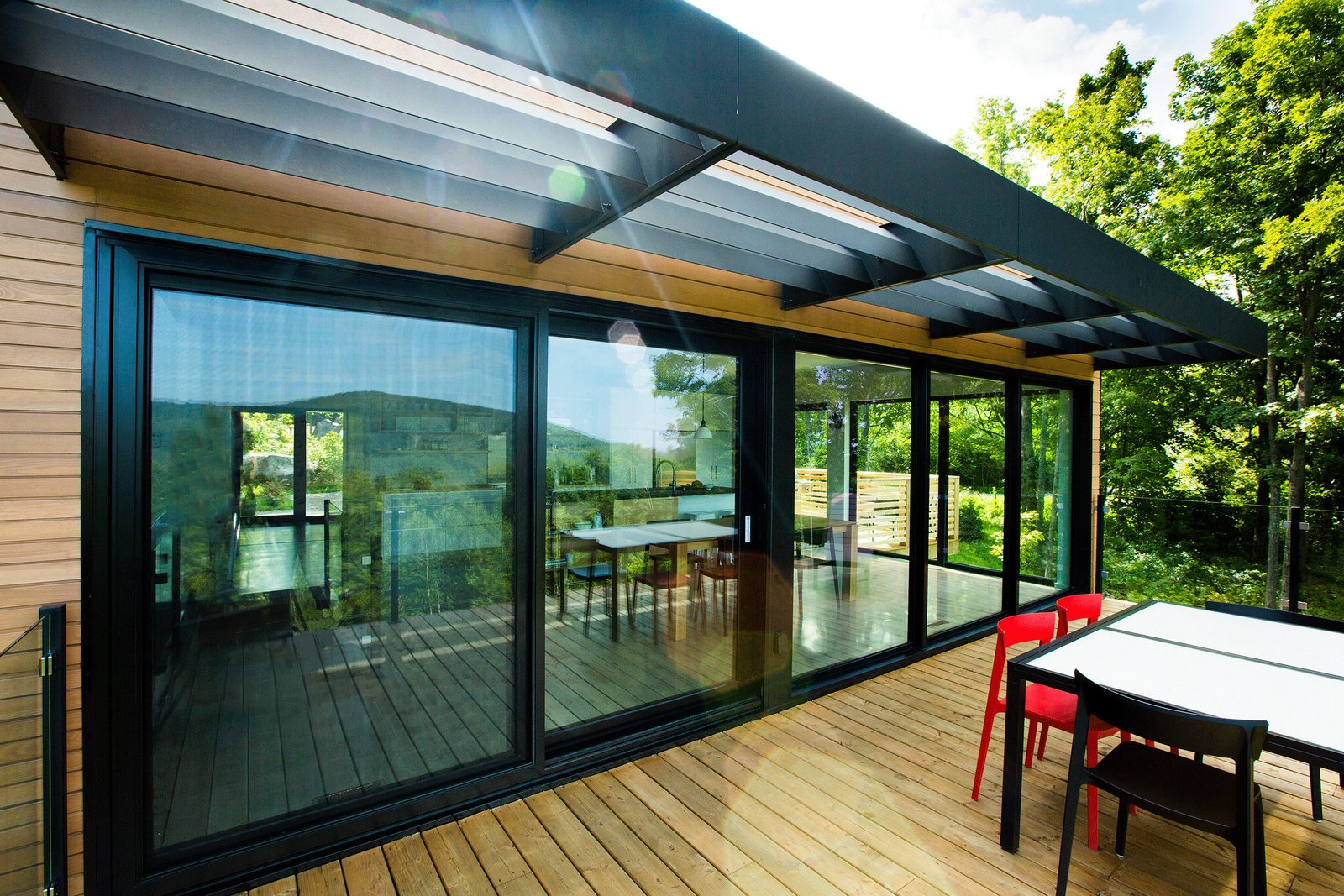Tagged: Outdoor and Wood Patio, Porch, Deck.  The Desjardins Residence by BONE Structure