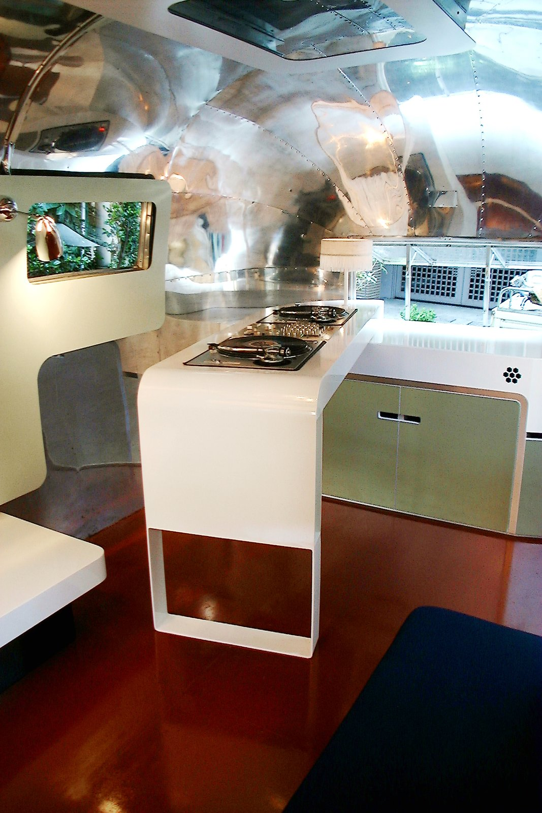Custom DJ trailer based on the Wilsonart trailer for a client in Tokyo  Photo 4 of 8 in Airstream: Re-designing an American icon