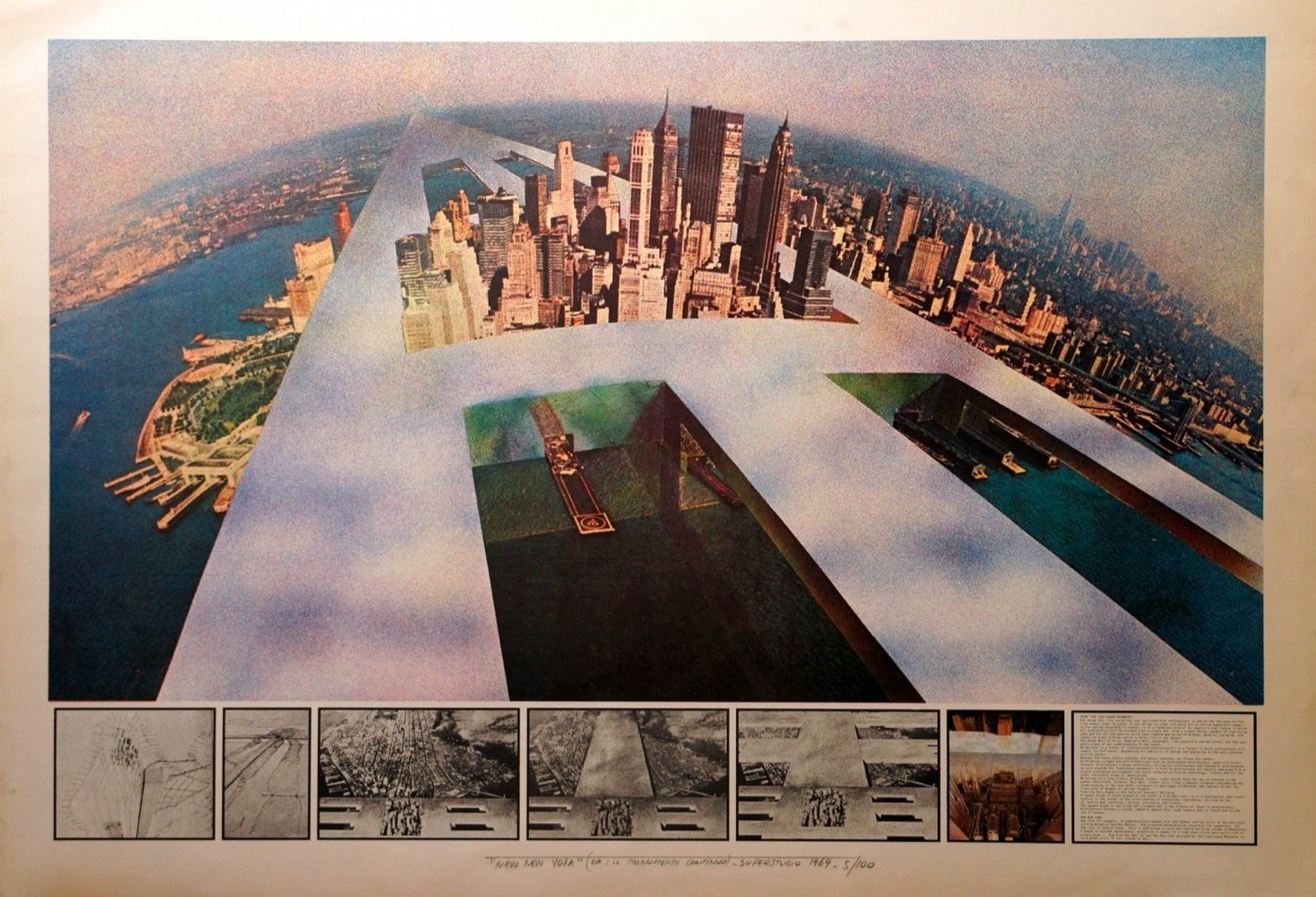 Continuous Monument and 12 Ideal Cities by Superstudio 1969-1972
