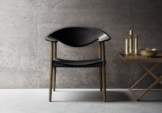 The Metropolitan Chair by Ejner Larsen and Aksel Bender Madsen, originally designed in 1949, relaunched in 2014 by Carl Hansen & Søn.