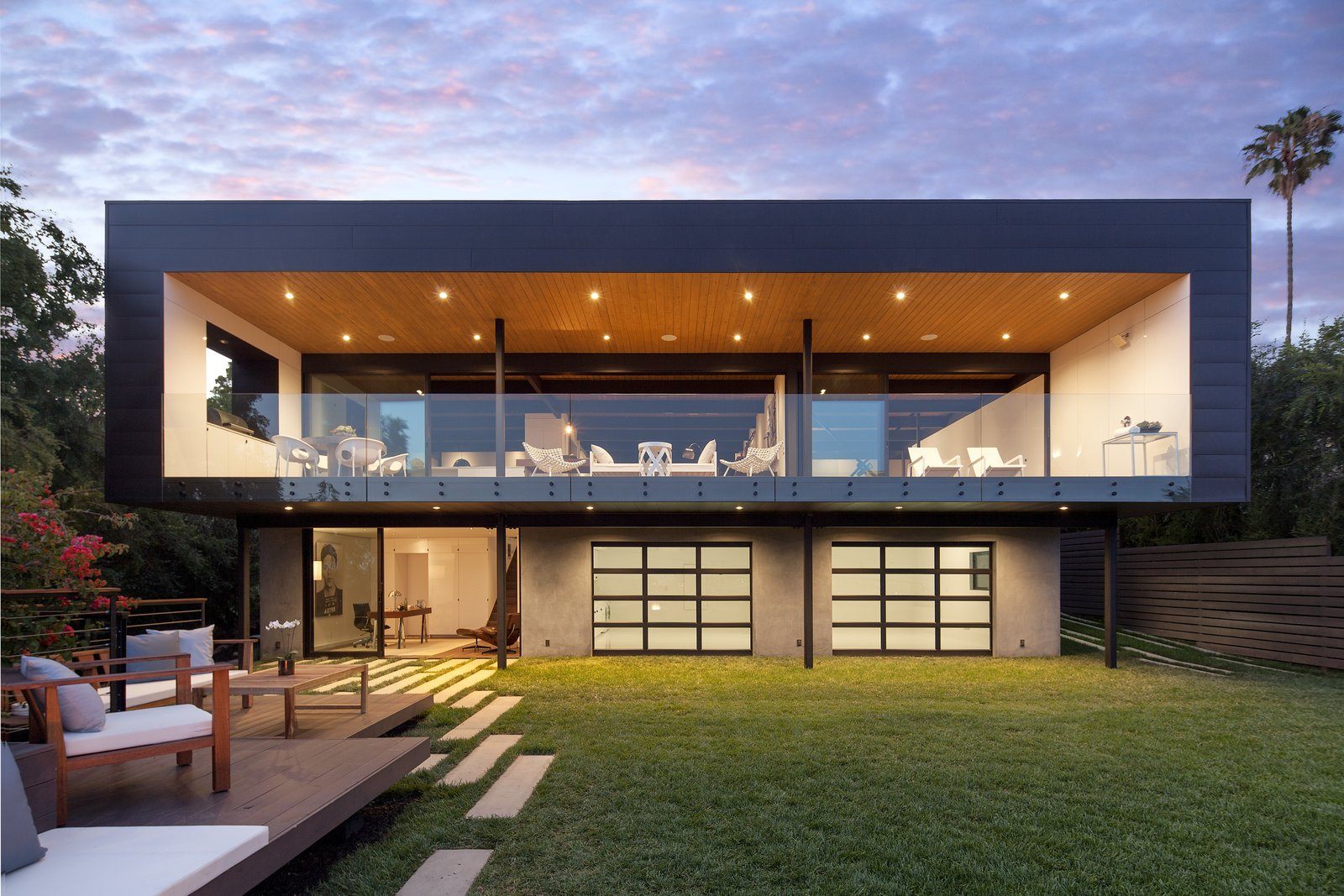 Paseo Ferrelo Modern Home In Santa Barbara California On