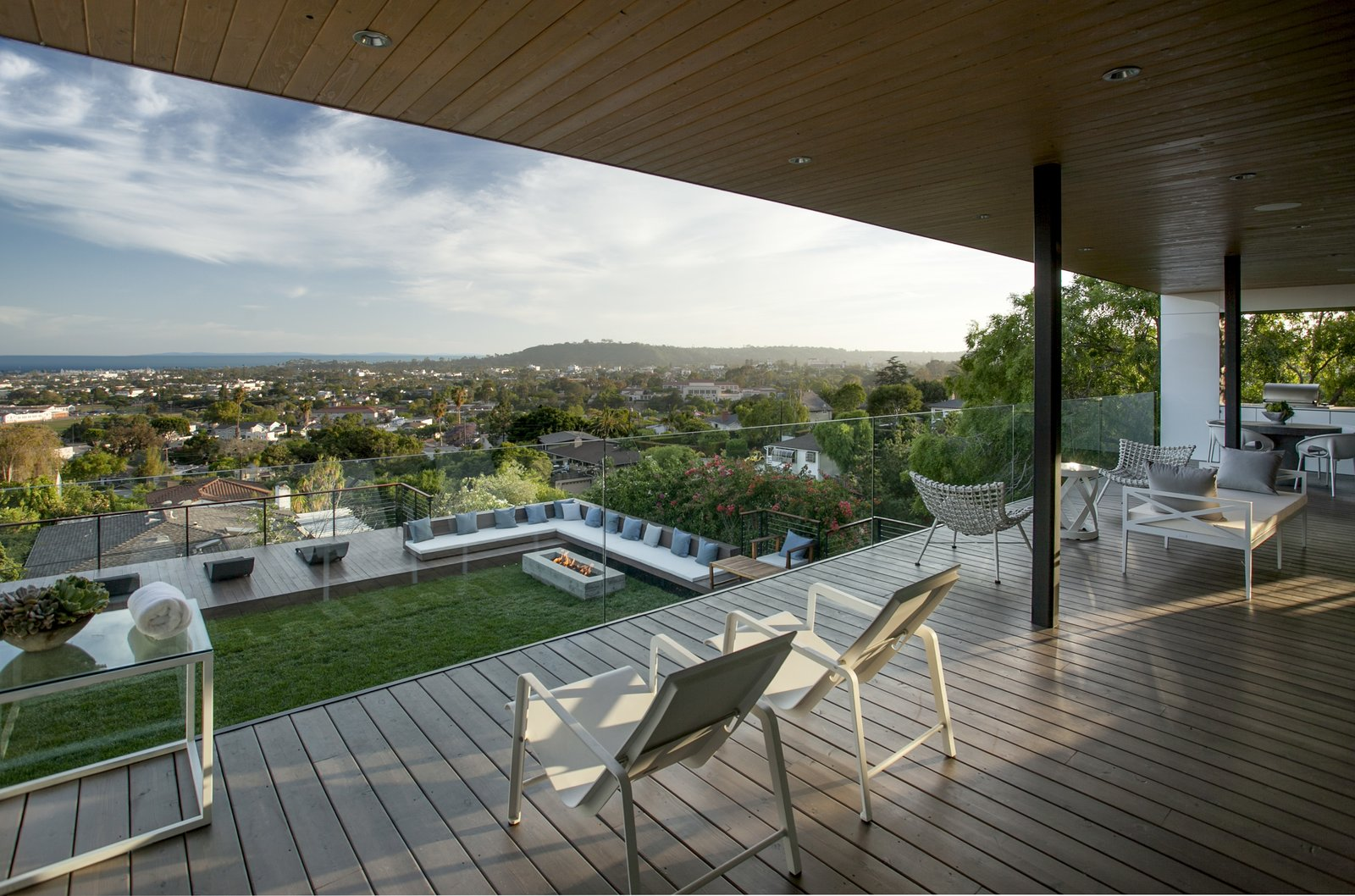 Outdoor, Grass, Large Patio, Porch, Deck, and Wood Patio, Porch, Deck  Paseo Ferrelo