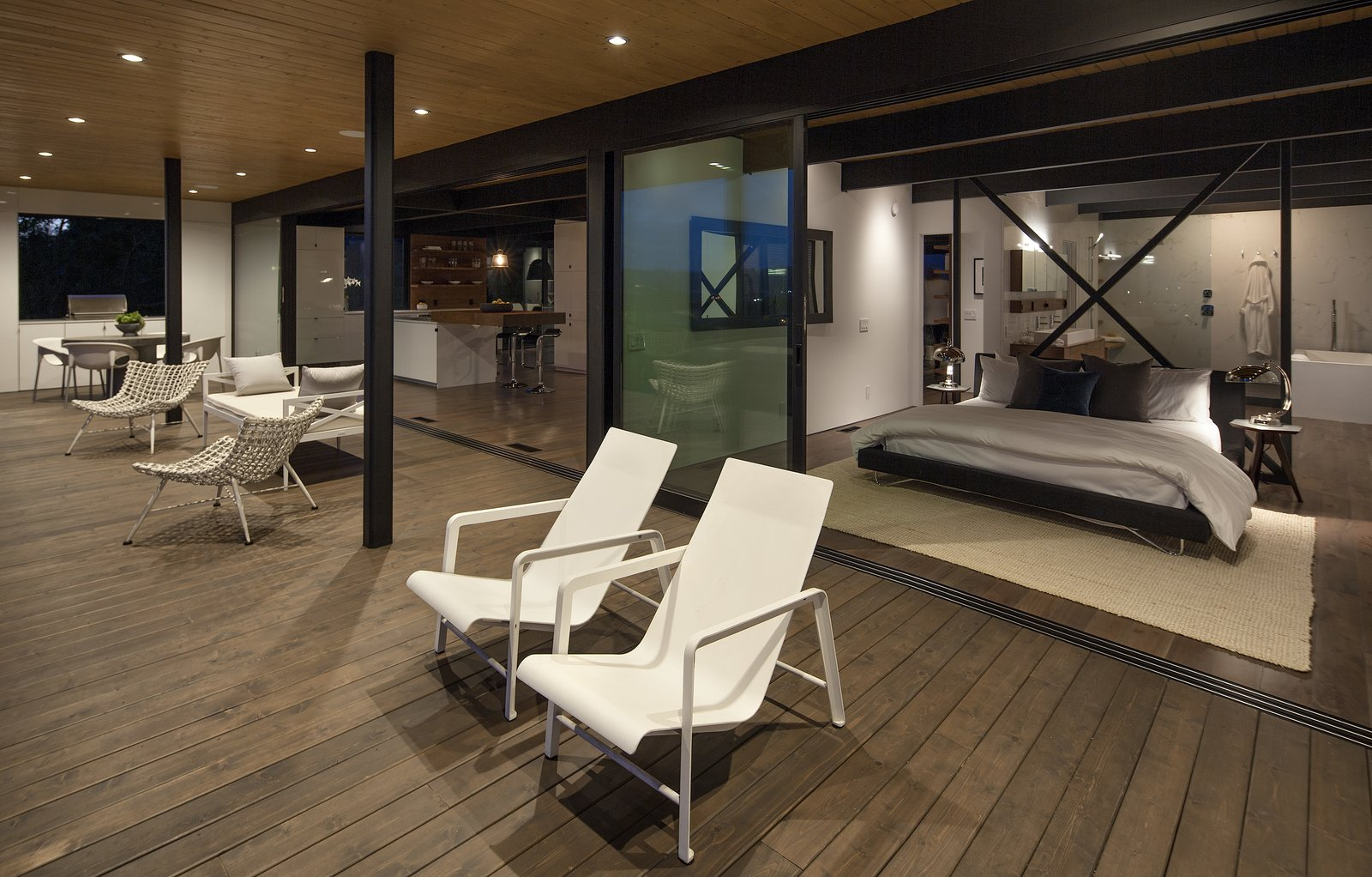 Outdoor, Large Patio, Porch, Deck, and Wood Patio, Porch, Deck  Paseo Ferrelo