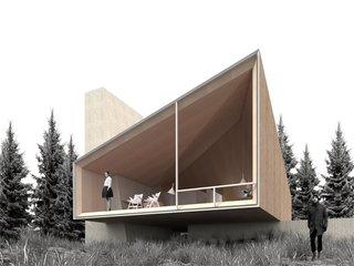 Architecture render by Srđan Nađ