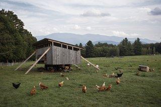 Von Trapp resort and farm in Vermont.