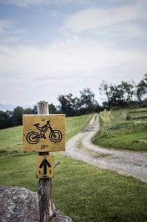 Trails at the von Trapp resort in Vermont.