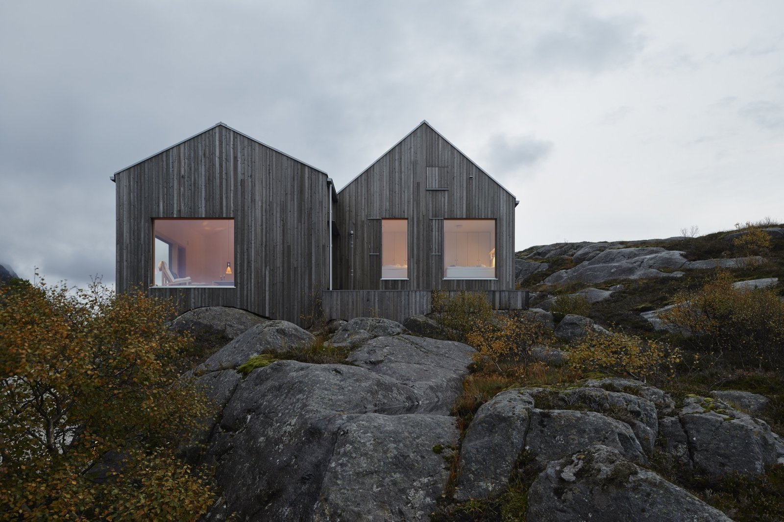 Exterior, Cabin Building Type, House Building Type, and Wood Siding Material  Photos from Naked Naust