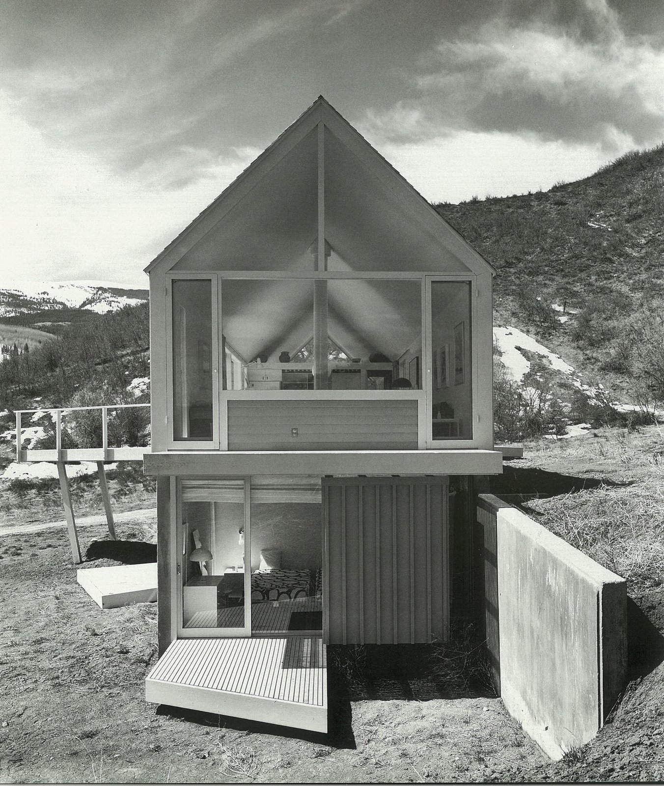 The Lavateili House in Snowmass, Colorado, designed by Harry Weese, 1969  Photo 2 of 21 in How American Modernism Came to the Mountains