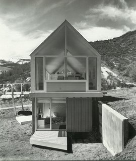 The Lavateili House in Snowmass, Colorado, designed by Harry Weese, 1969