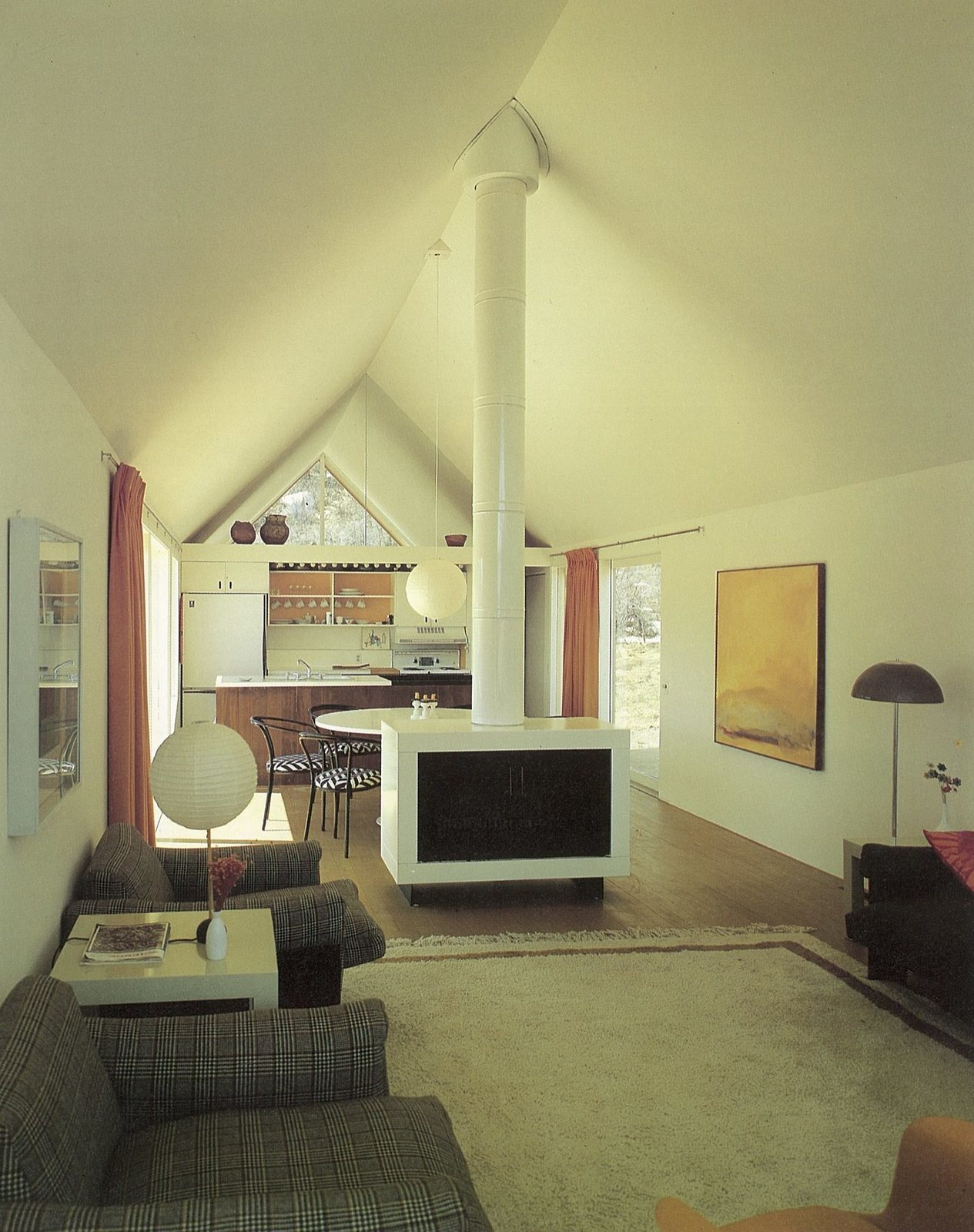 Harry Weese's Lavateili House — interior  Photo 3 of 21 in How American Modernism Came to the Mountains