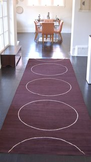 Custom rug by Marcia Weese