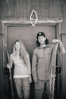 Zach and Cindi Lou Grant‒extreme athletes, high-school sweethearts, and DIY cabin builders