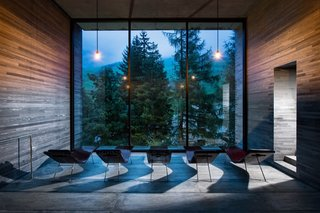 Therme Vals / Designed by architect Peter Zumthor