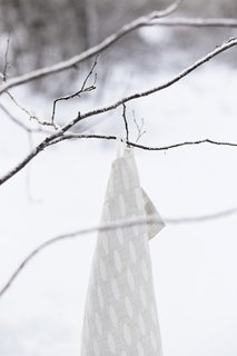 The Weavers of Lapua - Photo 8 of 20 - Lapuan Kankurit Helmi towel, white linen