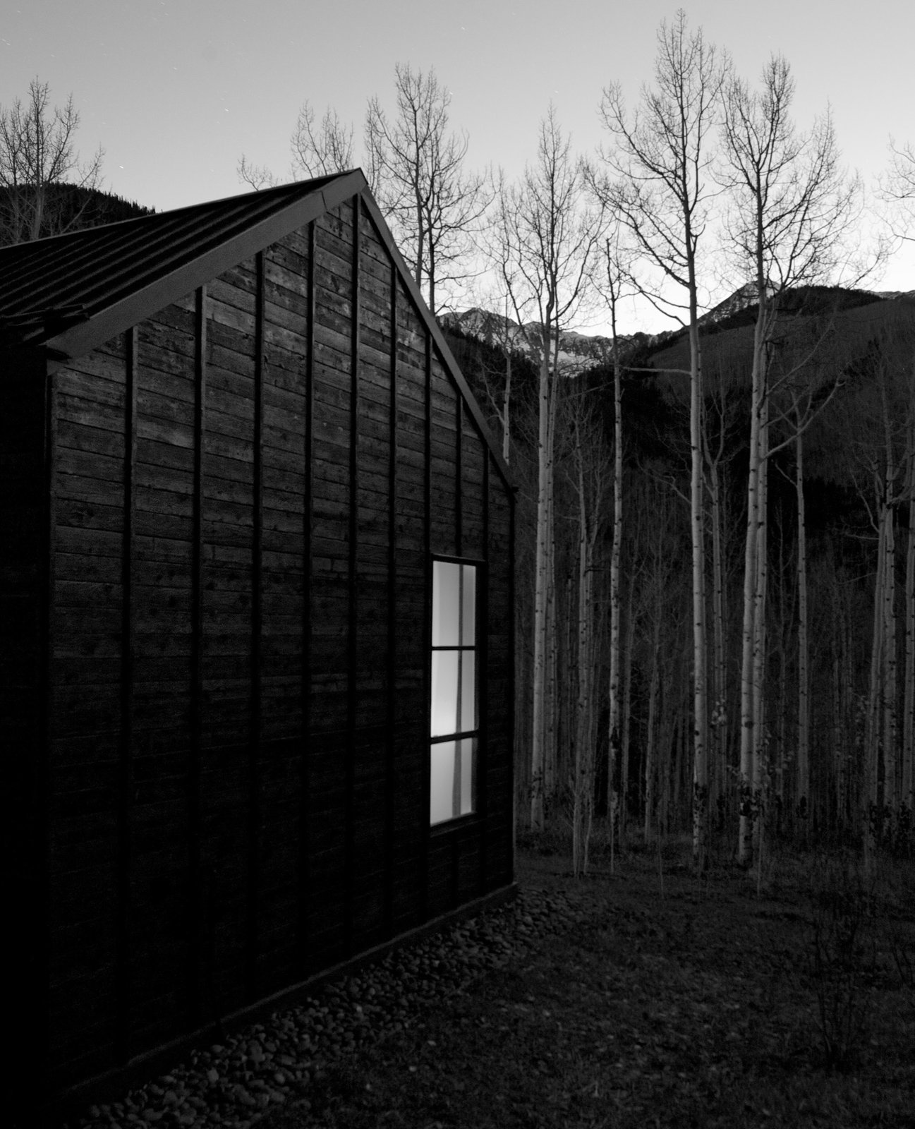 Black and white, shadow and light  Photo 5 of 13 in Retreat in the Aspen Grove