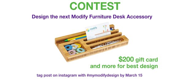Be the Next Modify Furniture Featured Maker