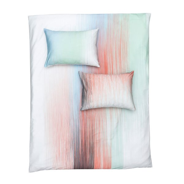 """Interferences"" duvet cover & pillows"