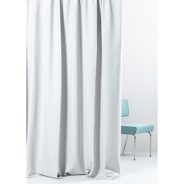 Extra Wide Linen Weave Blackout Curtains